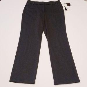 NWT Dana Buchman straight  pants Size12